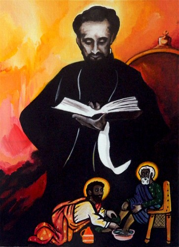 Haile Selassie I Reading1