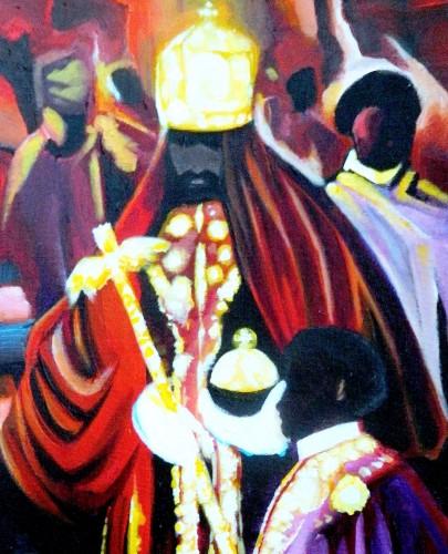 modern Selassie Coronation