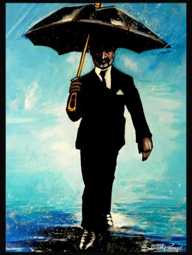 Jah's Umbrella. Haile Selassie