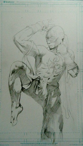 Iron Fist Pencils