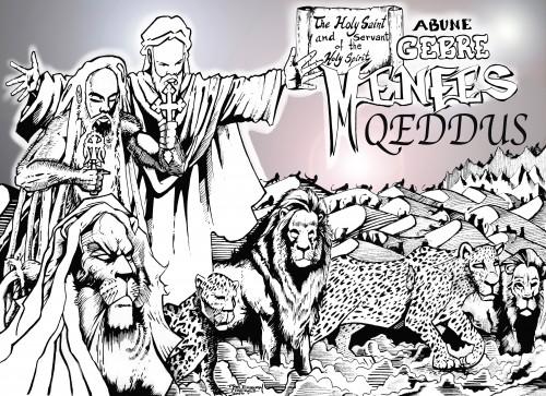Gebre Menfes Qeddus: Christian Comic. Ras Elijah Tafari